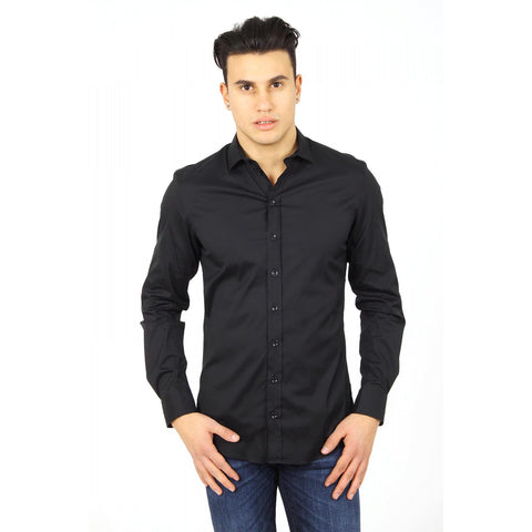 Armani Collezioni mens shirt long sleeve RCSSDL RC0F0 999