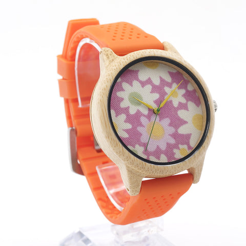 Cool and Casual Bamboo Watch