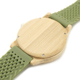 Green Eye Bamboo Watch