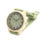 Hot Sale!!!! BOBO BIRD with wood grain design that rocks. This is a hot seller now on sale!!! The Green Silicone Straps Quartz sets this one apart from the rest.... - Victoria Vault