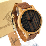 Only the best Bobobird Bamboo Wood Quartz Watches With Leather Straps!!  Hot 2016 New!!!!  Attentions getting unique watch for sure. - Victoria Vault