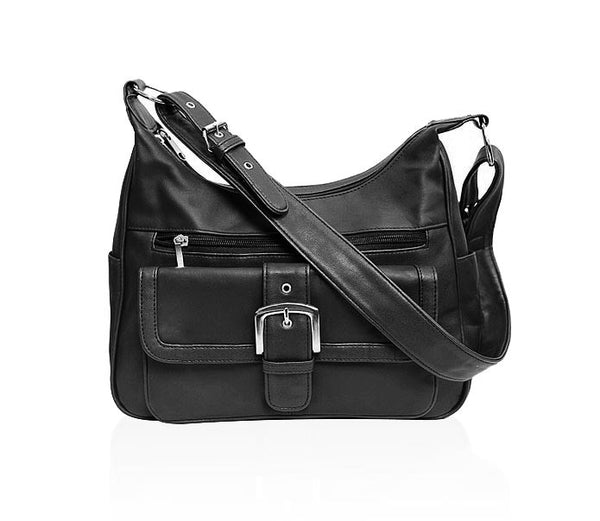 AFONiE Leather Shoulder Bag