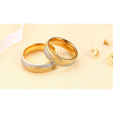 Couples' Two-tone Matching Wedding Bands - Victoria Vault