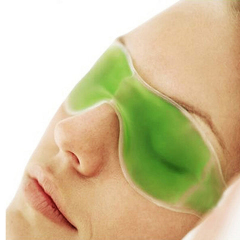 Green Ice Compress Gel Eye Mask