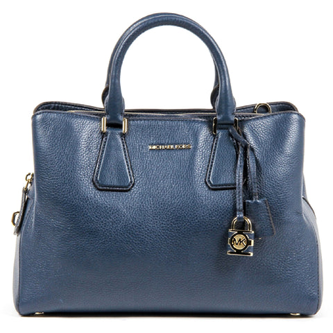 Michael Kors Ladies Camille Large Leather Satchel Handbag