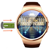 Bluetooth Smart Watch Heart Rate Monitor Connected Andriod Phone Sim Card With Camera - Victoria Vault