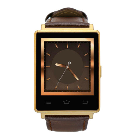 Shatterproof 1.63 Inch Screen  5.1 Smart Watch GPS Wifi SIM iPhone Android Phones