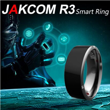 High Tech Smart Ring!!  NFC Magic For Android,iPhone And Windows Phones - Victoria Vault
