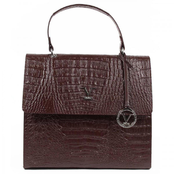 V 1969 Italia Womens Handbag ARC05 AGATA COCCO BORDEAUX