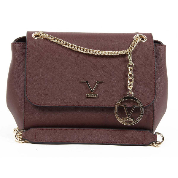 V 1969 Italia Womens Handbag VE014 CLARET RED