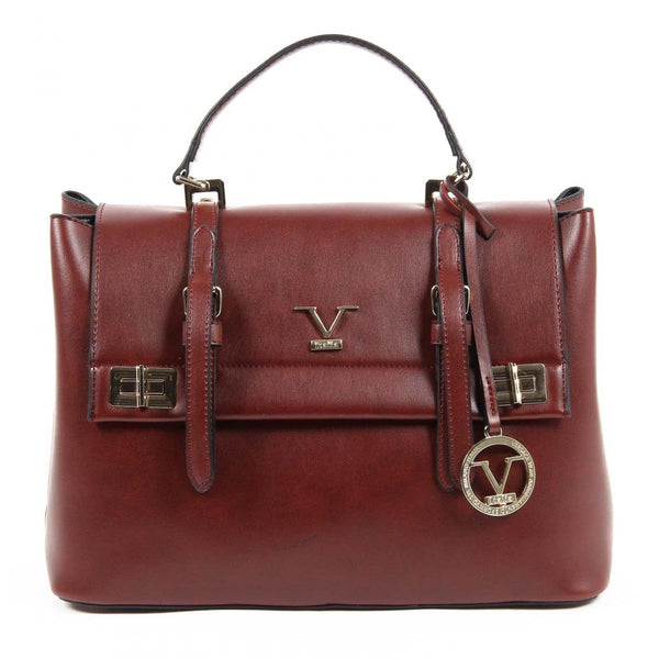 V 1969 Italia Womens Handbag VE017 CLARET RED