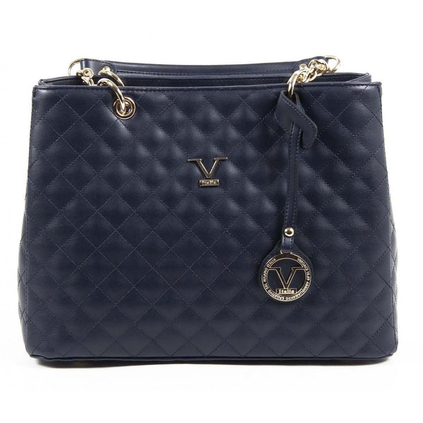 V 1969 Italia Womens Handbag VE03 NAVY BLUE