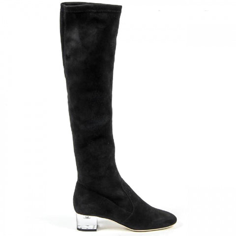 V 1969 Italia Womens High Boot 3123667 CAMOSCIO NERO