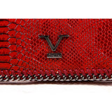 V 1969 Italia Womens Purse VEW00100 CLARET RED