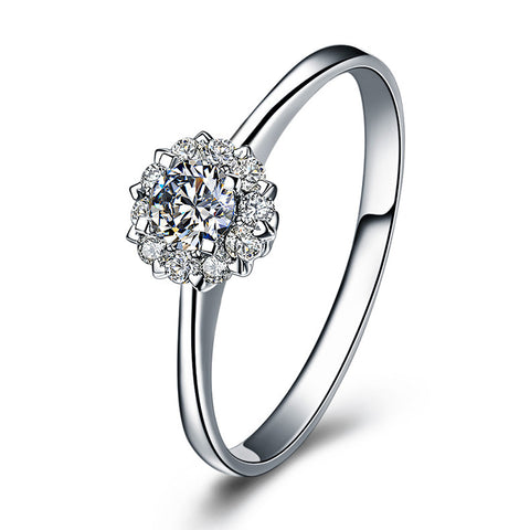 """I Love You"" Authentic Diamond Ring - Victoria Vault"