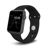 Shatter Proof Super Smart Phone/Watch Bluetooth 2.5D ARC HD Screen SIM Card Pedometer: - Victoria Vault