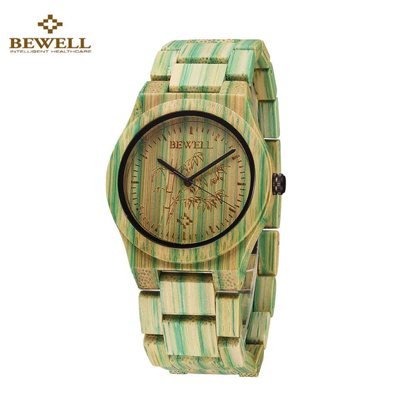 Full hand carved  Bamboo Watch Women with Natural Quartz Wooden. Brand new 2016 style.  very unique bamboo watch with the best prices. - Victoria Vault