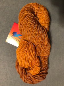 Butternut Ombre beaded merino wool yarn
