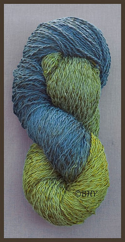 Deep Forest Cotton Rayon Twist Lace Yarn