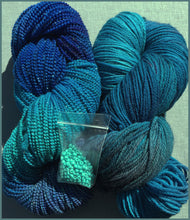 Ginko Sock Plus/Beaded Wool Scarf Kit:(ykp)