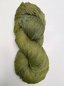 Pear light cotton fingering yarn