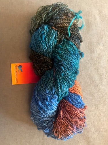 Rainbow Sea Wool Seed Yarn