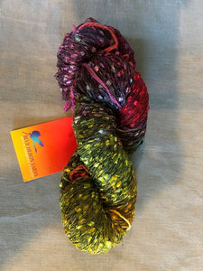 Sunset confetti rayon/nylon yarn