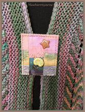Arctic Dawn Rainbow Scarf & Pin