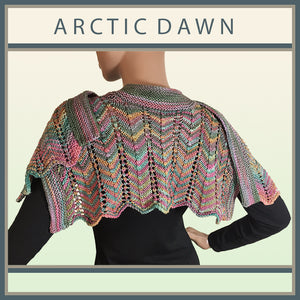 Arctic Dawn Rainbow Scarf
