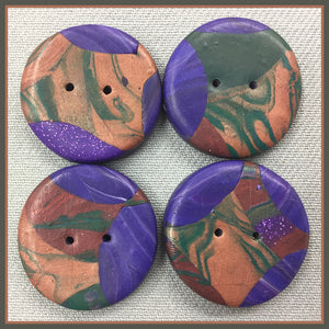 Buttons: Blue Moon #3
