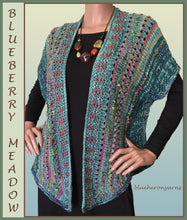 Vest: Blueberry Meadow