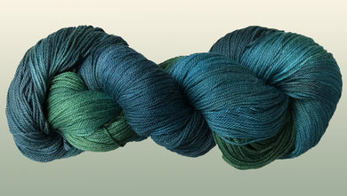 Bamboo/Organic Cotton: Bluegrass NEW YARN!