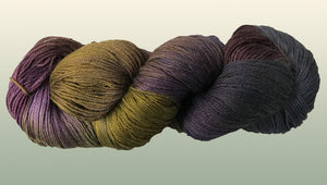 Bamboo/Organic Cotton: Dusk NEW YARN!