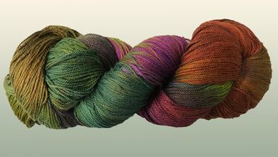 Bamboo/ Organic Cotton: Mossy Place NEW YARN!