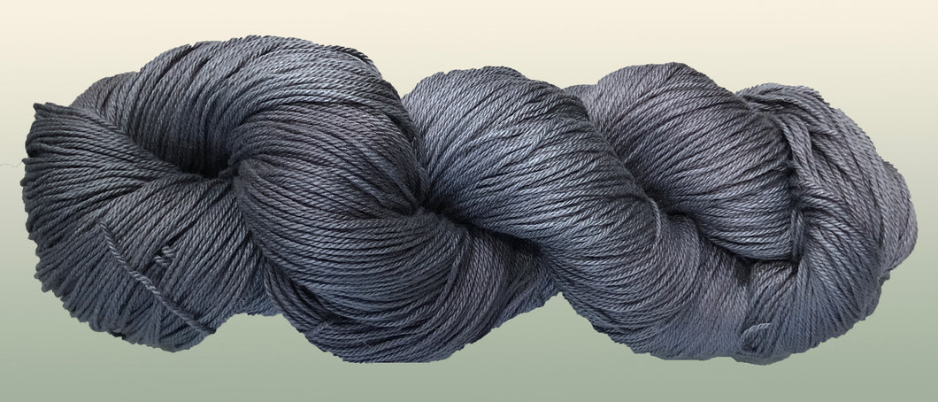 Bamboo/Organic Cotton Yarn: Silver NEW YARN!