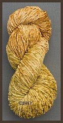 Antique Gold Bulky Rayon Chenille Yarn