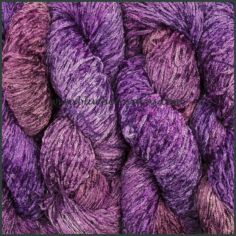 Grape Bulky Rayon Chenille Yarn