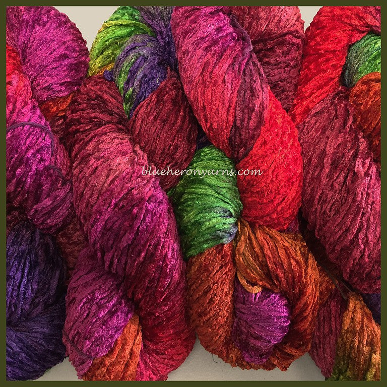 Parrot Bulky Rayon Chenille Yarn