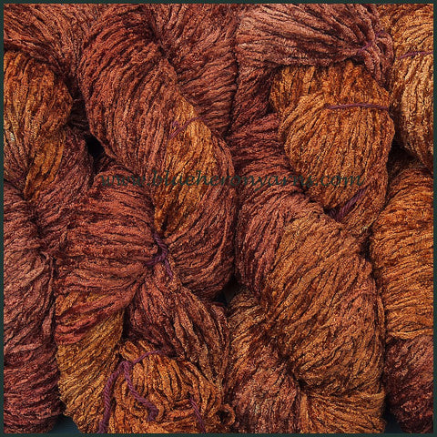 Rosewood Bulky Rayon Chenille Yarn