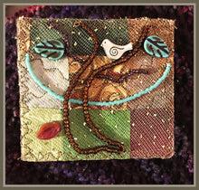 Breezy Day Quilted Pin