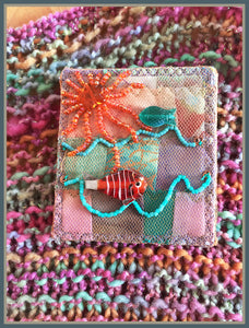 Quilted Pin: Up at Dawn