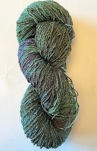 Cactus cotton/rayon seed yarn with broken thread