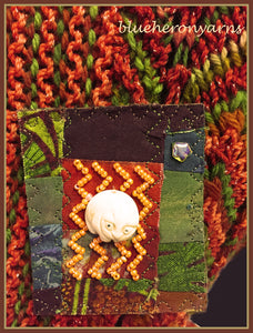 Quilted Pin: Cozy Cat