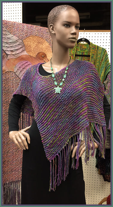 Cotton Rayon Metallic Capelet Kit