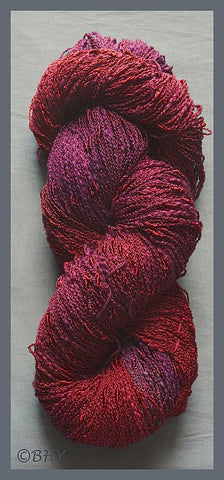 Carnelian Cotton Rayon Seed Yarn