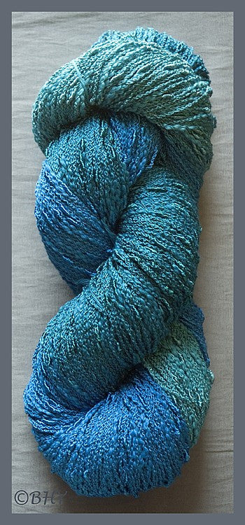 Deep Blue Sea Cotton Rayon Seed Yarn