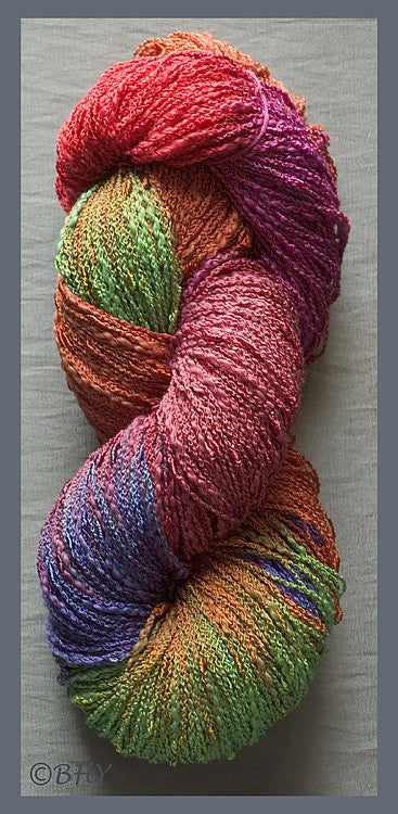 Parrot Cotton Rayon Seed Yarn