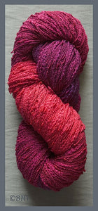 Raspberry Cotton Rayon Seed Yarn