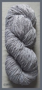 Silver Cotton Rayon Seed Yarn