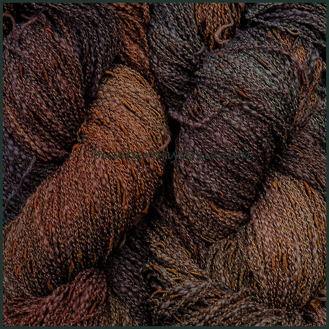 Chocolate Cotton Rayon Seed Yarn